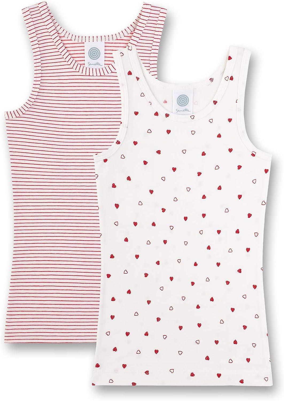 Sanetta M/ädchen Doppelpack Unterhemd 2er Pack