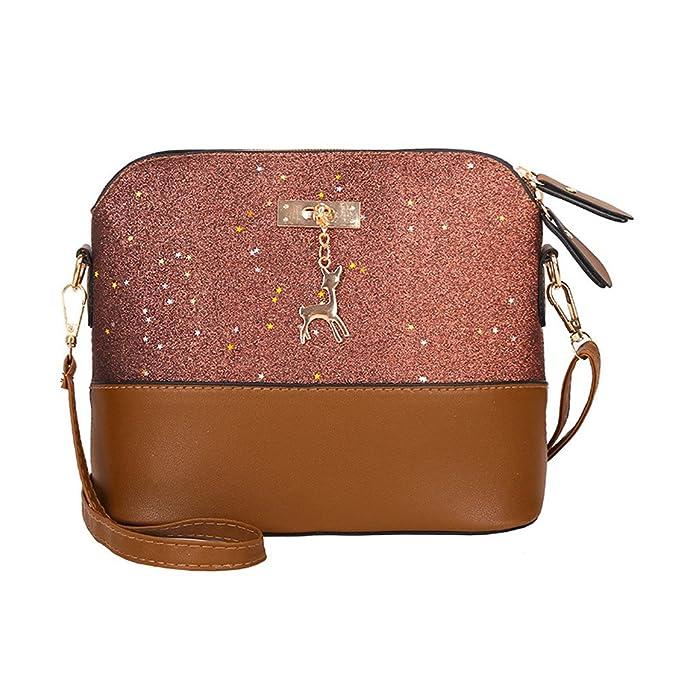 Amazon.com: Wugeshangma Bolsas para mujer, bolso de hombro ...
