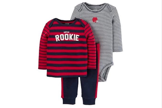 c0ce9170e Amazon.com  Child of Mine by Carter s Baby Boy Long Sleeve Shirt ...