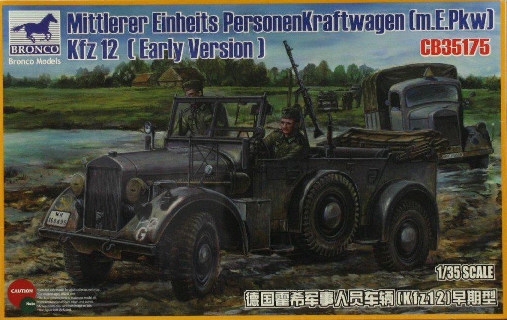 ブロンコ1 : 35 Mittlerer EINHEITS personenkraftwagen m.e. PKW KFZ。12 Early # cb35175 B079CDFQJJ