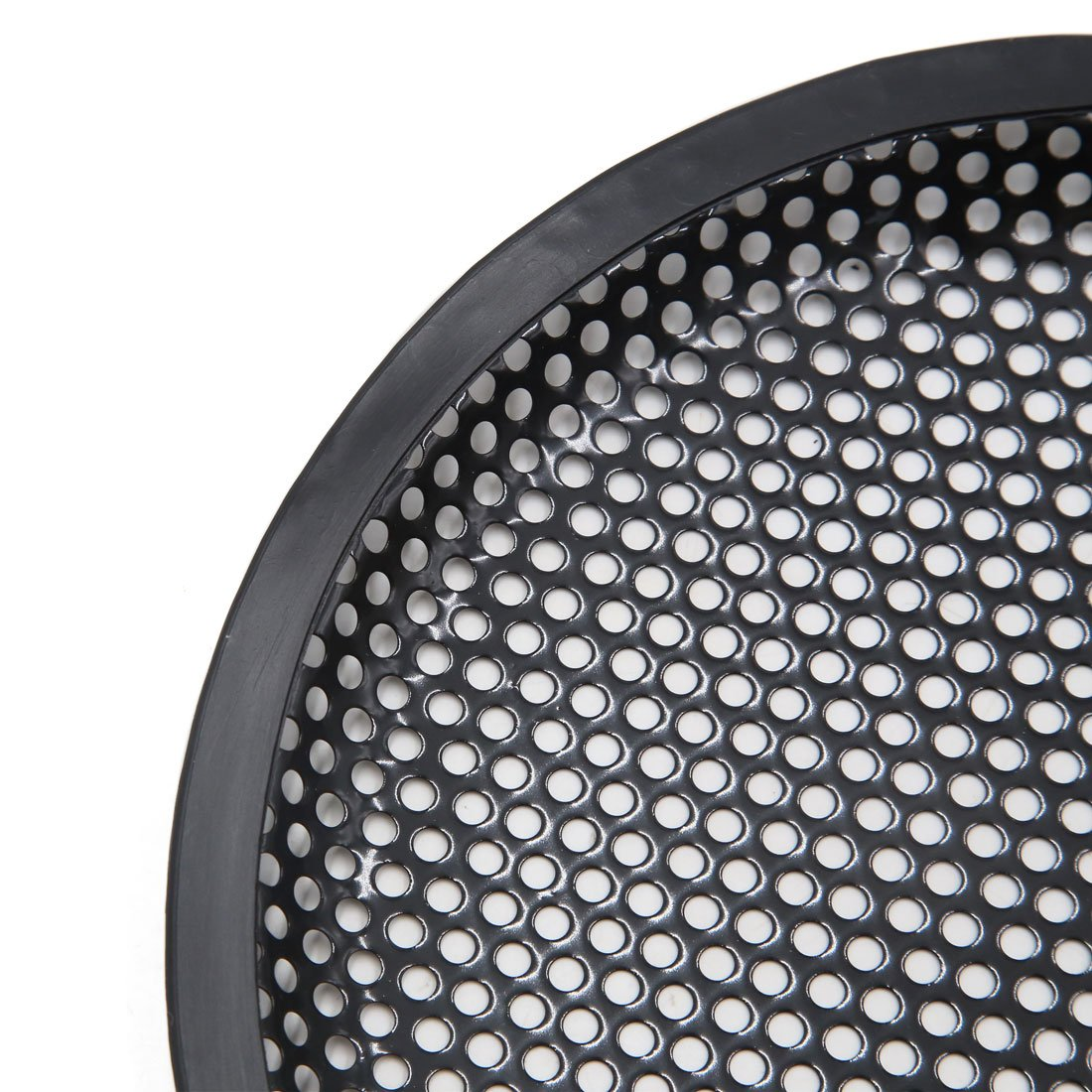 8Dmr schwarz Metall Gitter Auto Audio Lautsprecher Subwoofer Staub Schutz DE de sourcingmap/® 2Stk