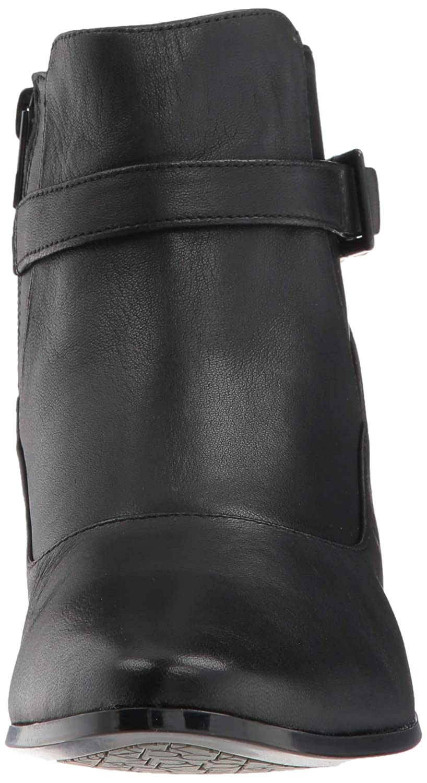 8ffc5e957b842 Calvin Klein Women's FARRYN Ankle Boot, Black, 6 M US