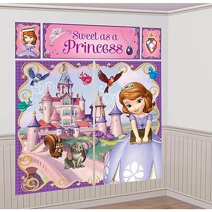 Amazon Disney Princess Sofia The First Scene Setter Wall