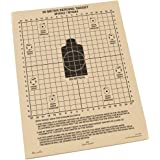 "Rite in the Rain All-Weather 25 Meter Target, 8 1/2"" x 11"", Tan, M16A2 / M16A4 Front, M4 CARBINE Back, 100 Sheet Pack (No. 9125)"
