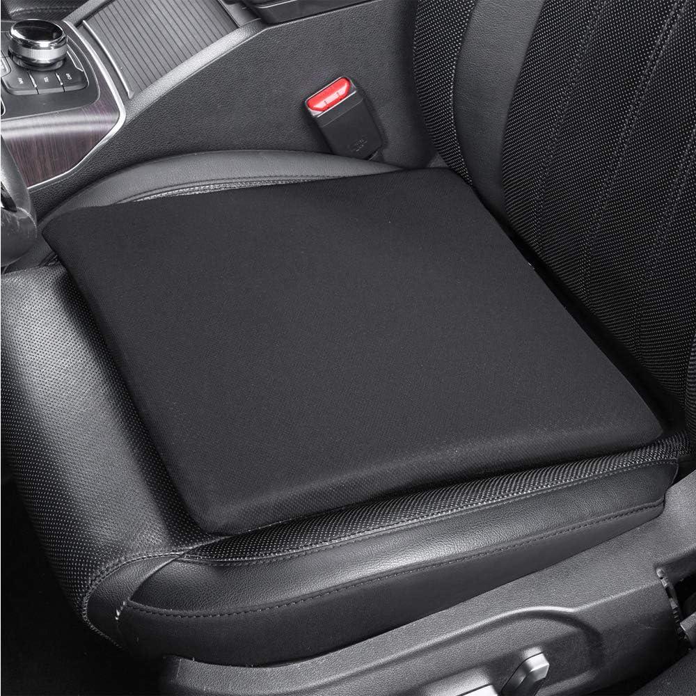 Basics Memory Foam Seat Cushion Square Gray