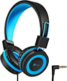 iClever HS14 Kids Headphones, Headphones for Kids with 94dB Volume Limited for Boys Girls, Adjustable Headband, Foldable…