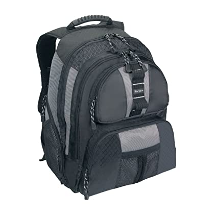 a6a43787c Amazon.com: Targus Sport Standard Backpack for 15.4-Inch Laptops,  Black/Gray (TSB212): Electronics