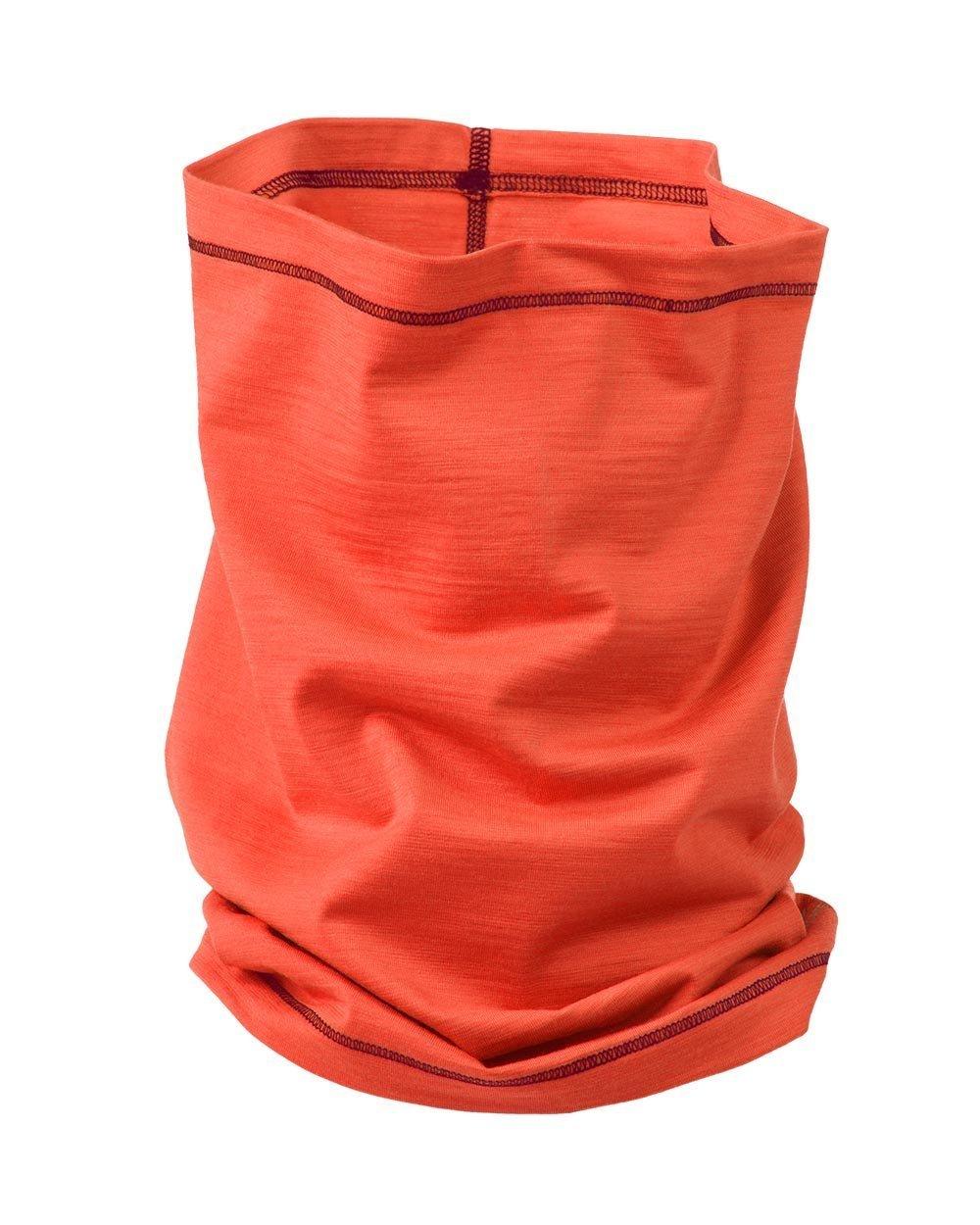 Engel Sports Women's Loop Scarf 70% Organic Merino Wool 28% Silk 2% Elastane (Spicy) by Engel Sports