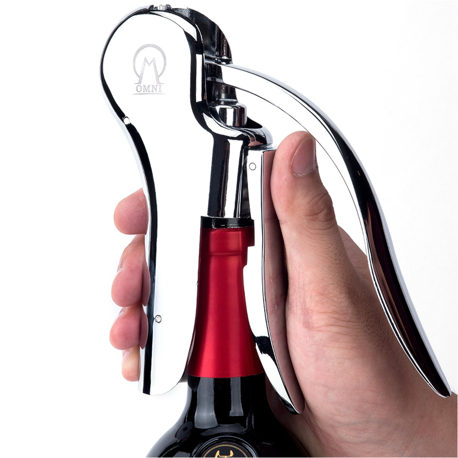 Vintorio Wine Opener Omni Edition - Premium Lever Pull Corkscrew Set - The Ultimate Gift For Wine Lovers