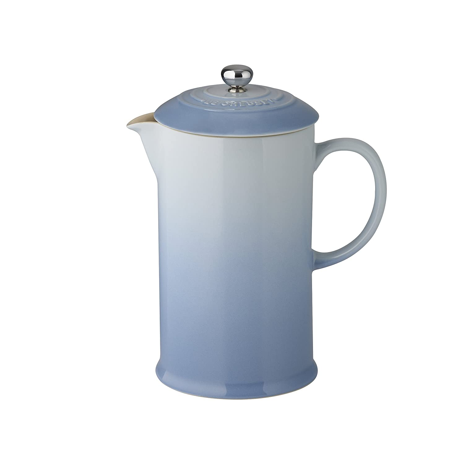 Le Creuset Stoneware Cafetiere with Metal Press, 750 ml - Cassis 91028200213000