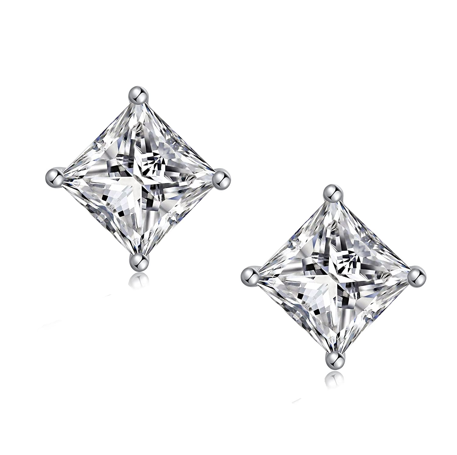 43facbef0 jiamiaoi - Diamond Earrings is a classic piece of your jewelry collection.  This beautiful jewelry will make any woman shine and joy, and give her  dress a ...