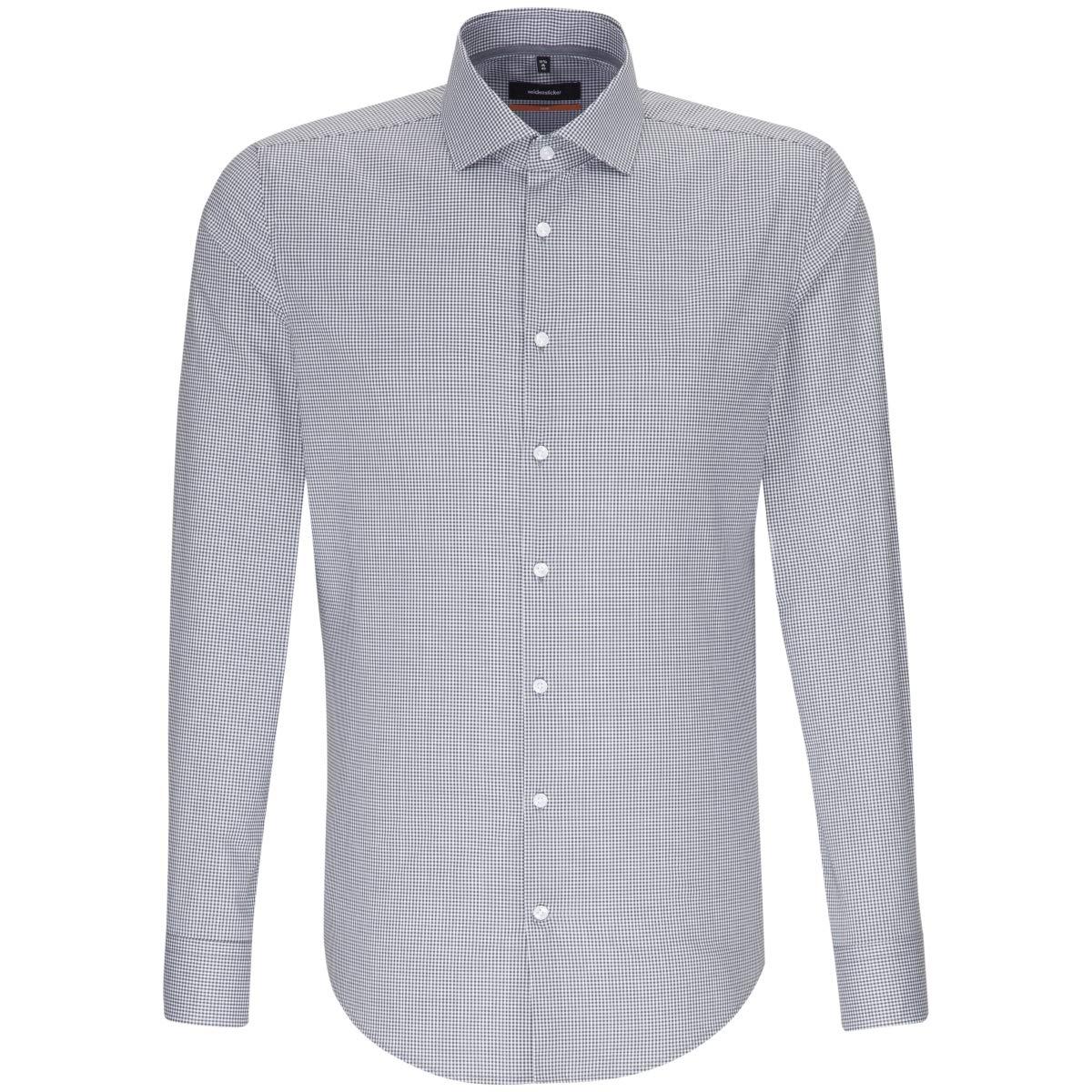 Seidensticker - Camisa Formal - Cuadros - Clásico - para Hombre