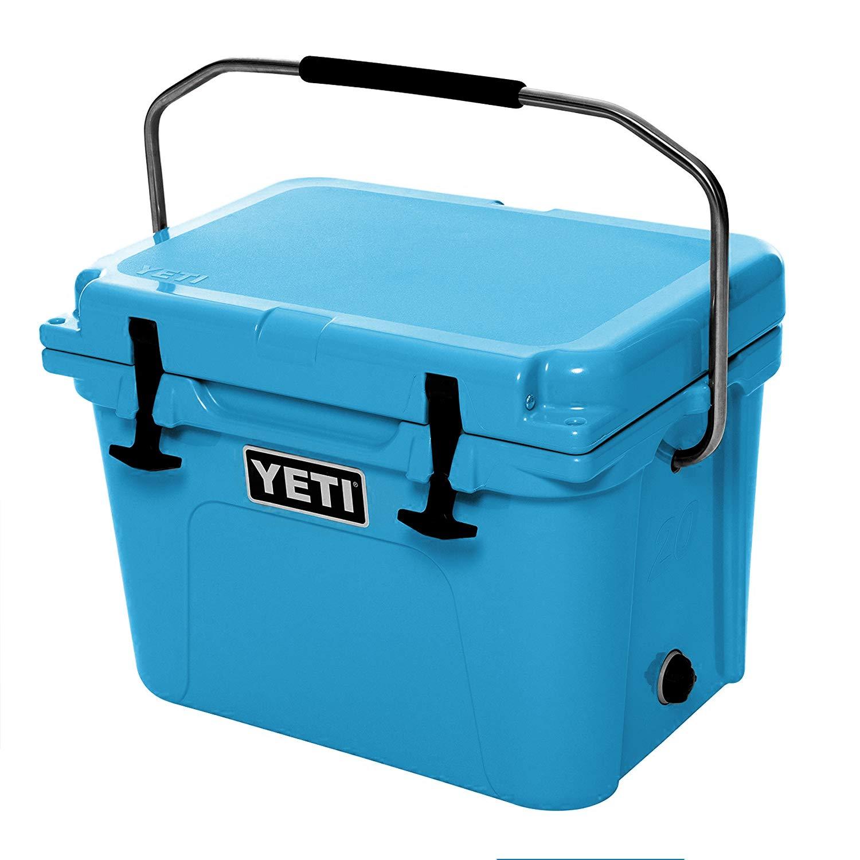 YETI Roadie 20 Cooler, Reef Blue  best coolers with wheels