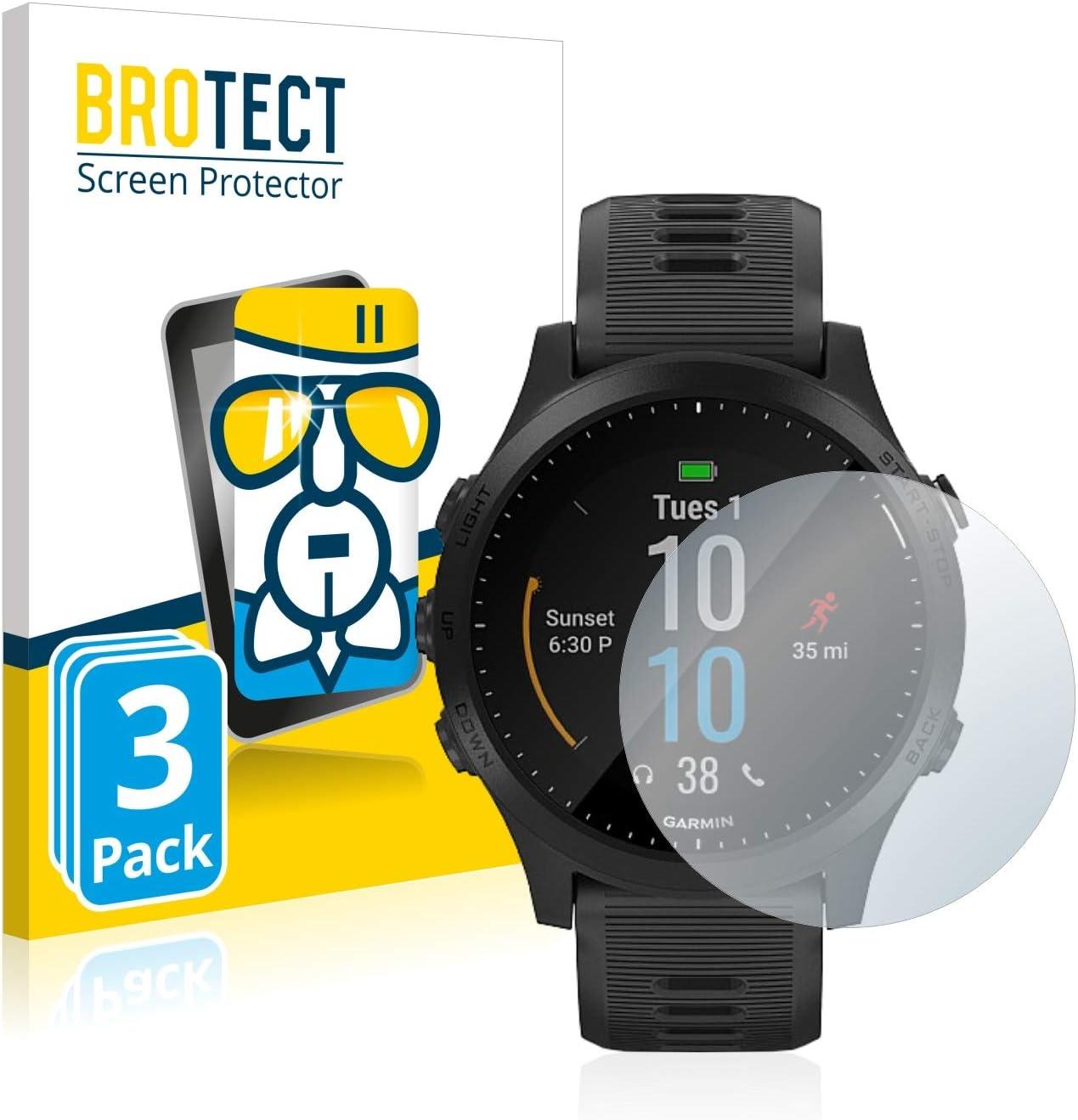 BROTECT Protector Pantalla Cristal Compatible con Garmin ...