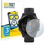 BROTECT Protector Pantalla Cristal Compatible con Garmin Forerunner 945 Protector Pantalla Vidrio (3 Unidades) - Dureza…