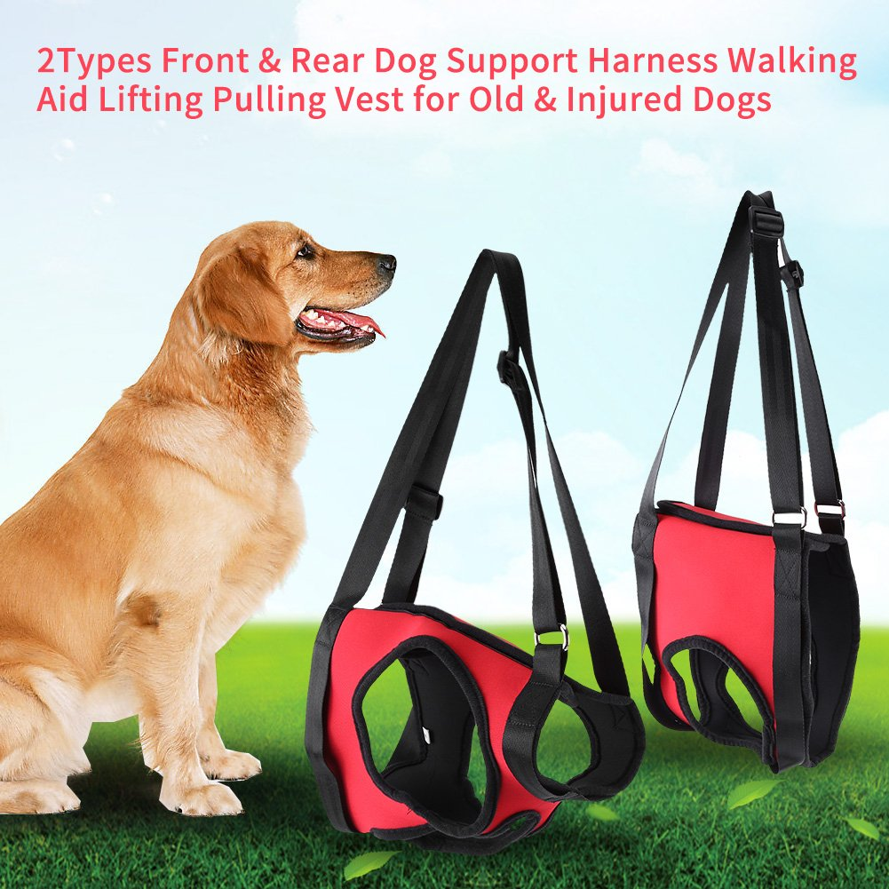 Dog Lift Harness Front Rear Dog Support Harness Walking Aid Lifting