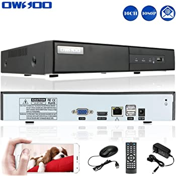 Amazon Com Owsoo Dvr Recorder For Cameras 16 Channel