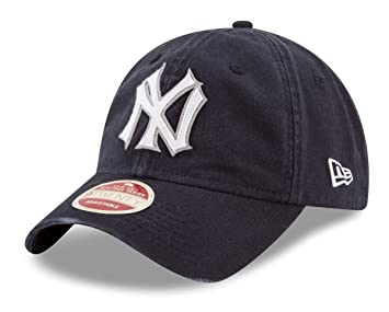 official photos 63dd5 902b8 New Era New York Yankees MLB 9Twenty Cooperstown Rugged Patch Adjustable Hat,  Baseball Caps - Amazon Canada