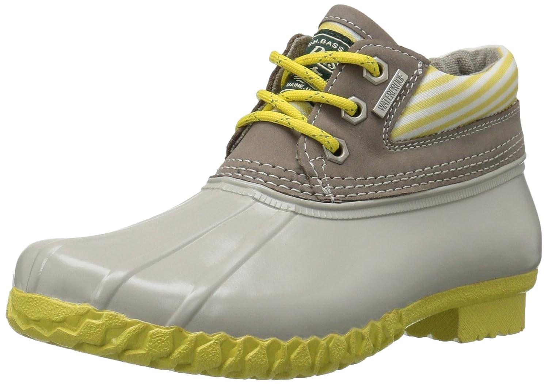 G.H. Bass & Co.. Women's Dorothy Rain Boot B01M9I91S3 9 B(M) US|Limoncello/Grey/Soft Grey