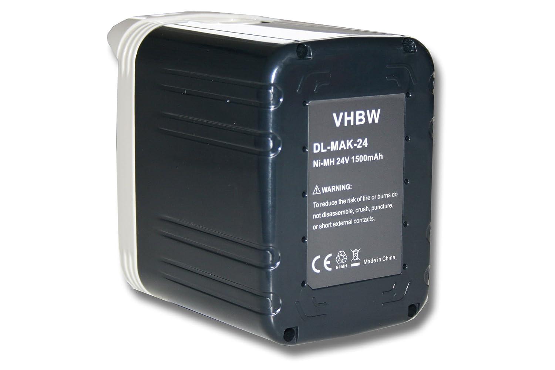 vhbw batería NiMH 1500mAh (24V) para herramientas eléctricas ...