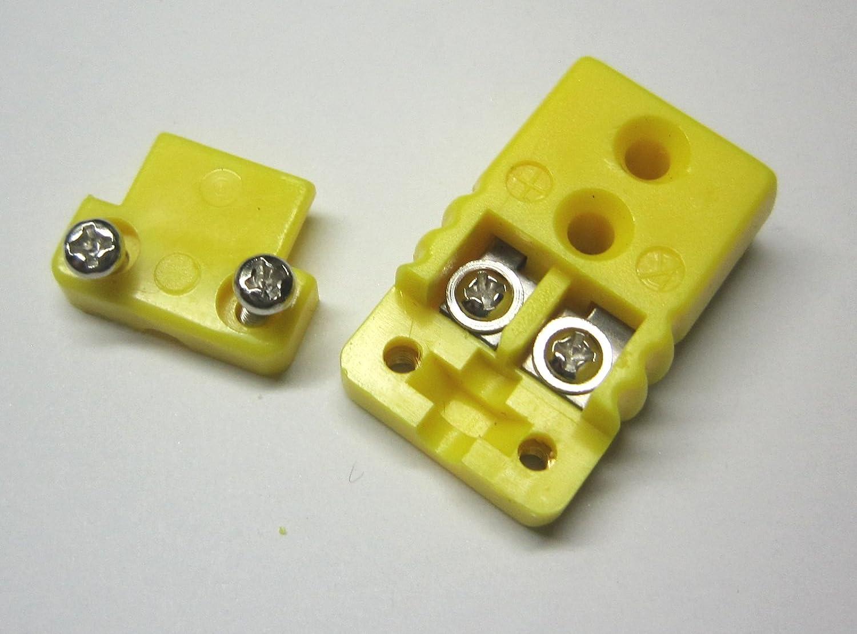 Miniature Mini K-type Thermocouple Connector Female Plug