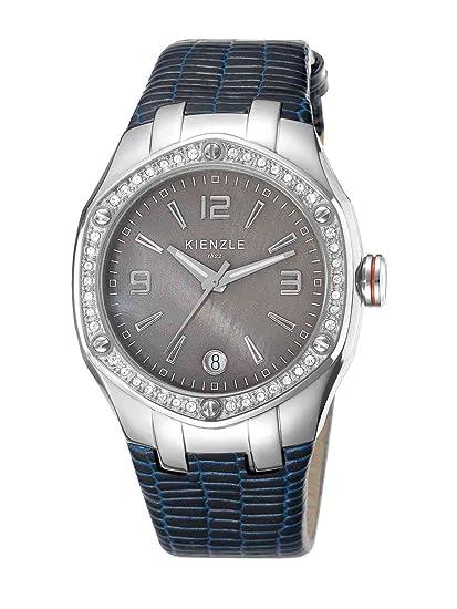 Kienzle K5012014011-00033 - Reloj analógico de cuarzo para mujer con correa de piel,