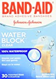 B-A Water Block Plus Size 30s Band-Aid Water Block Plus Transparent Adhesive Bandages