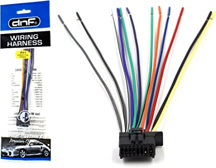 Amazon.com: DNF Pioneer Wiring Harness DEH-1300MP DEH-3300UB DEH-33HD DEH-3400UB  - 100% Copper Wires!: AutomotiveAmazon.com