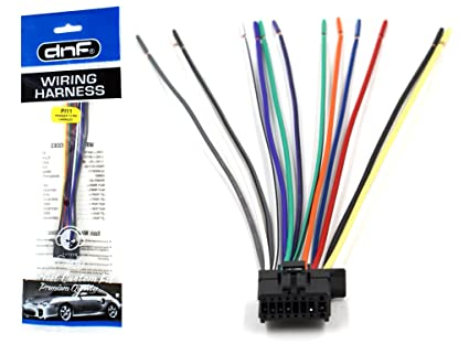 amazon com dnf pioneer wiring harness deh 1300mp deh 3300ub deh rh amazon com pioneer deh-4300ub wiring harness diagram