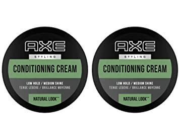 Amazon Com Axe Styling Cream Natural Understated Look 2 64ounce Pack Of 2 Hair Styling Creams Beauty
