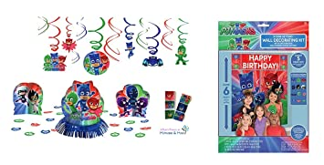 PJ Masks - Pack de 6 Figuras y 3 Armas: Gatuno, Buhíta, Gekko