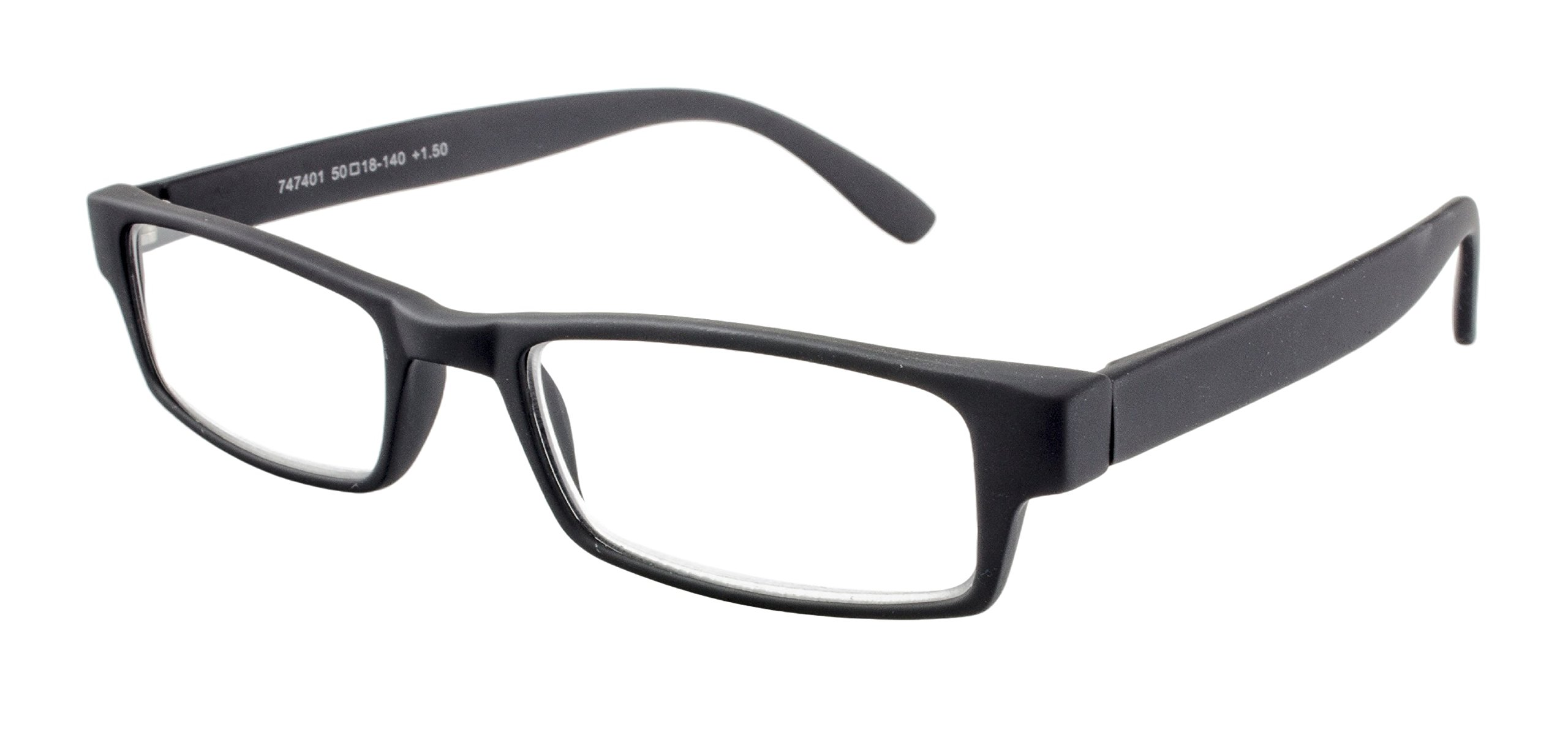 in an array of colors and strengths with a colored pattern on the inside of the temples Edison /& King Reading glasses