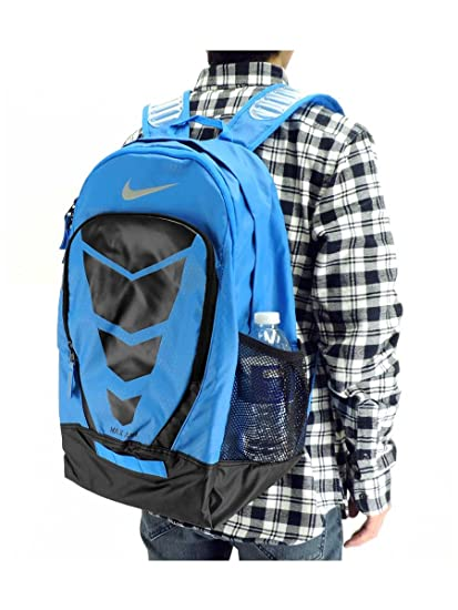 nike max air backpack blue and green