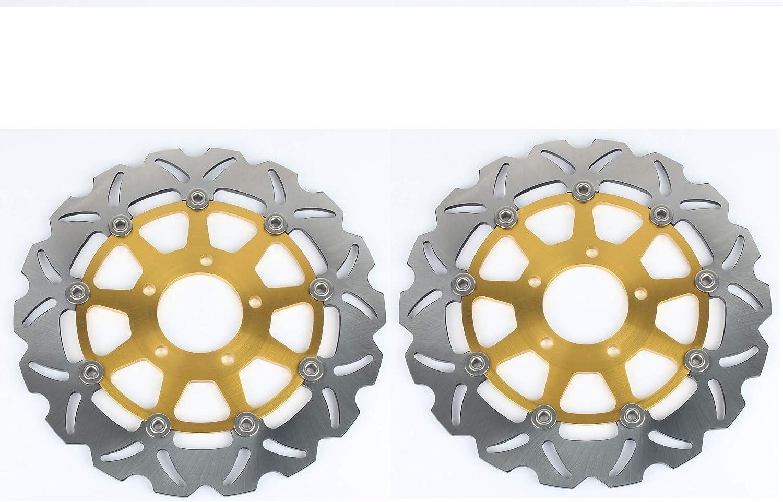 TARAZON 3x Anteriore E Posteriore Disco Dischi Freno Kit per Suzuki GSXR600 GSXR750 GSXR GSX-R 600//750 2004-2005// GSXR1000 GSXR GSX-R 1000 2003-2004