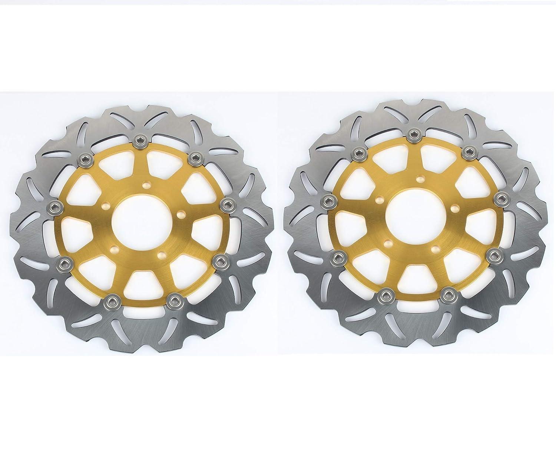 TARAZON 2x For GSX-R GSXR 1300 Hayabusa GSX1300R 1999-2007// GSX-R GSXR 600 750 1000// TL1000 R S GSX1400 Front Brake Discs Disks