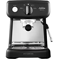 Sunbeam EM4300K Mini Barista Coffee Machine | Espresso, Latte & Cappuccino Coffee Maker | 2L Water Tank | Milk Frother…