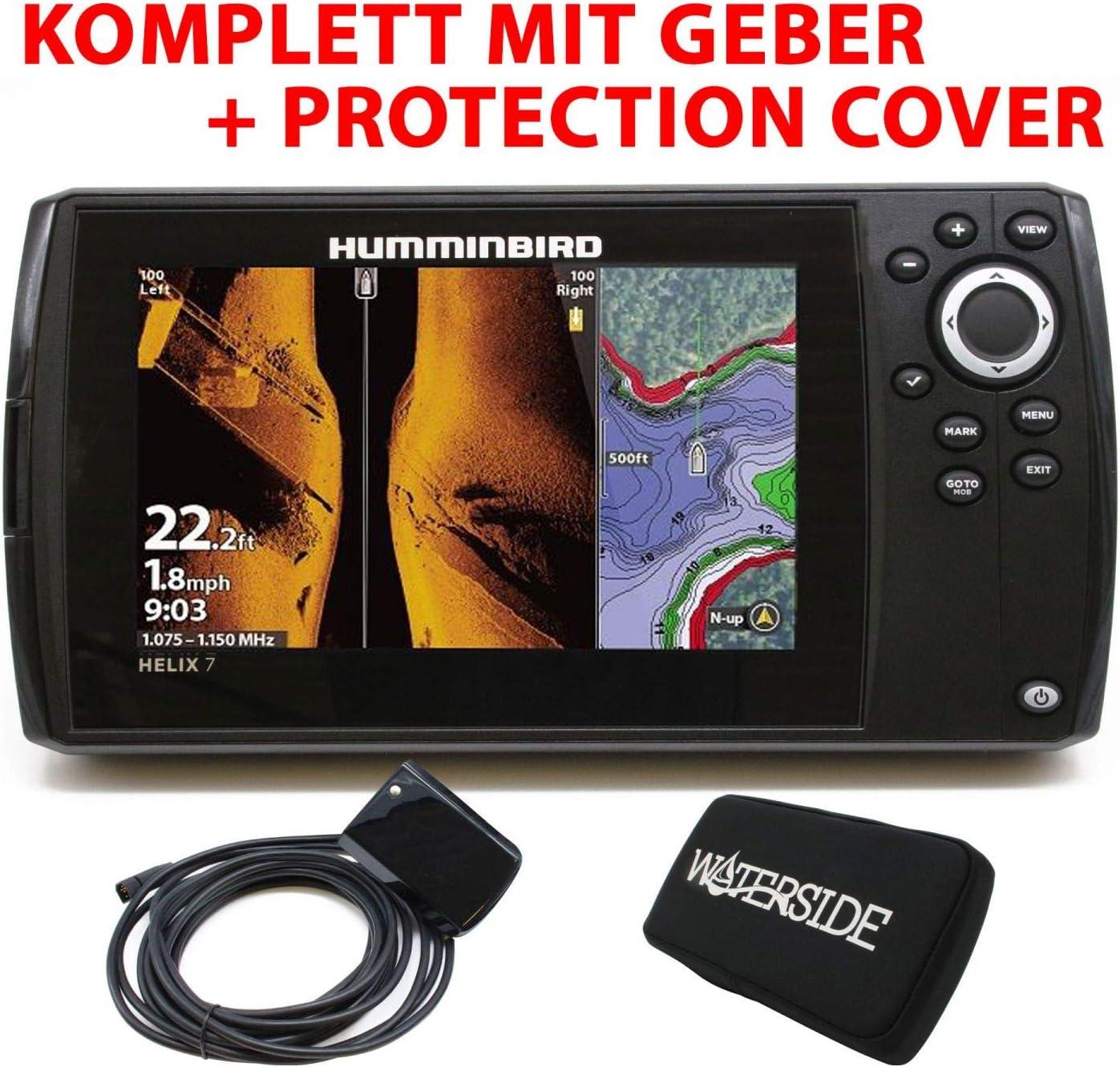 【HUMMINBIRD/ハミンバード】HELIX 7 CHIRP MEGA SI GPS G3N マップ無し GPS魚探 魚群探知機 航海計器