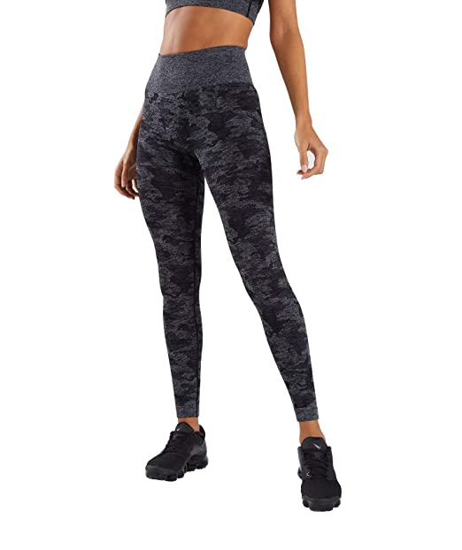 RUIVE Womens High Waist Yoga Pants Snack Print Ankle Length Workout Running Sports Mesh Elastic Tights Leggings
