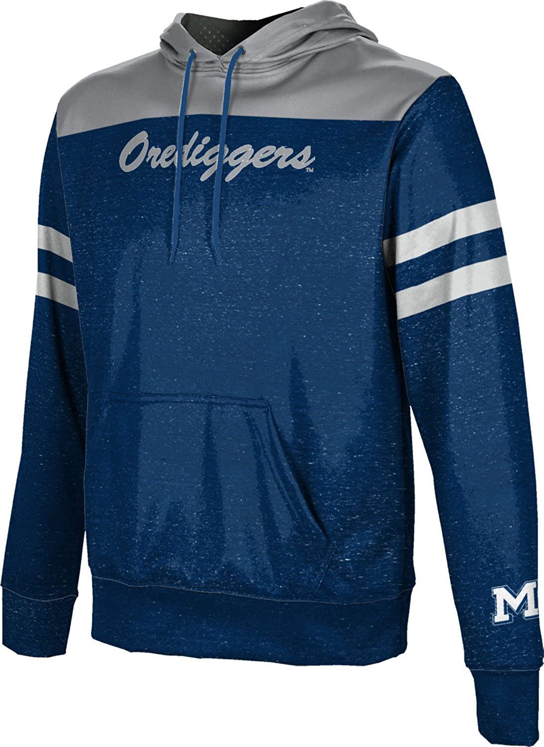 School Spirit Sweatshirt Colorado School of Mines University Mens Pullover Hoodie Game Time