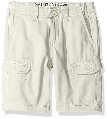 2429c32e9 Nautica Boys' Cargo Slim Fit Shorts: Amazon.in: Clothing & Accessories