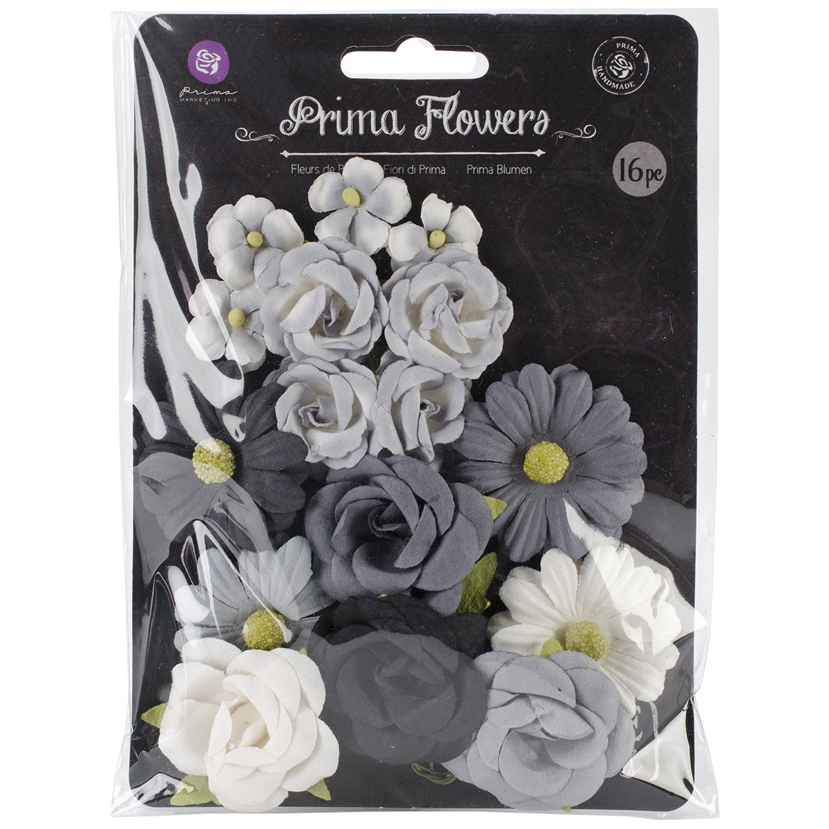 Prima Marketing Aud2 71610 Audrey Mulberry Paper Decorative Flowers