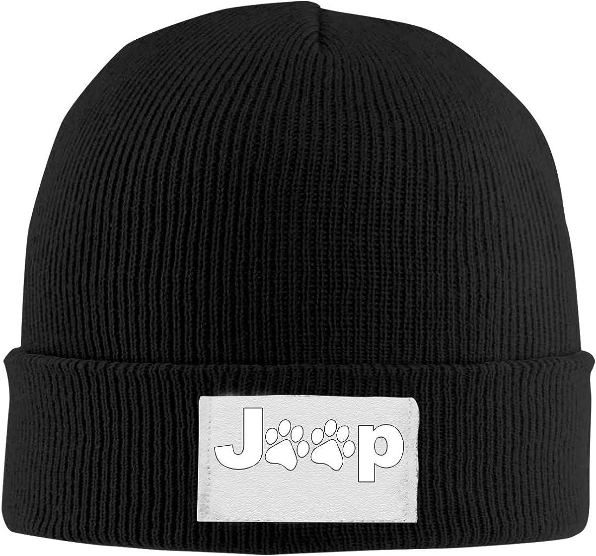 White SHORT VISOR BEANIE JEEP HAT Knit Jeep Cap Warm Winter skull ski snowboard