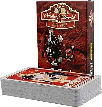 FaNaTtik Fallout Playing Cards Nuka World Gift Shop: Amazon.es: Juguetes y juegos