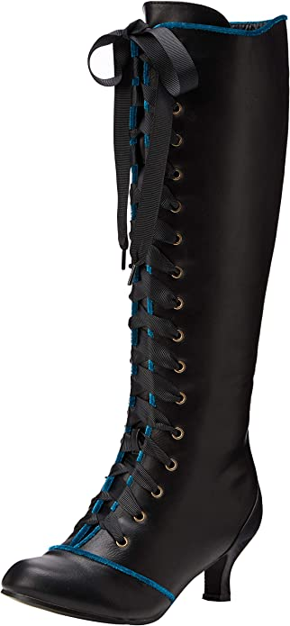 Spellbound Tall Lace Up Boots High