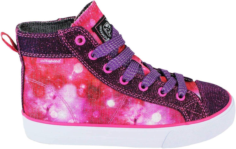 Airspeed Girls' High-top Canvas Sneaker