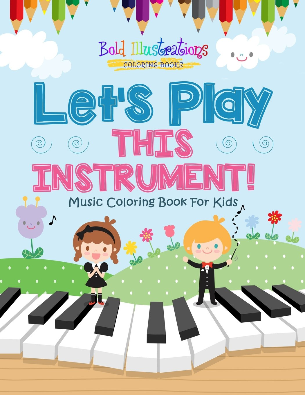 Amazon.com: Let\'s Play This Instrument! Music Coloring Book For Kids ...