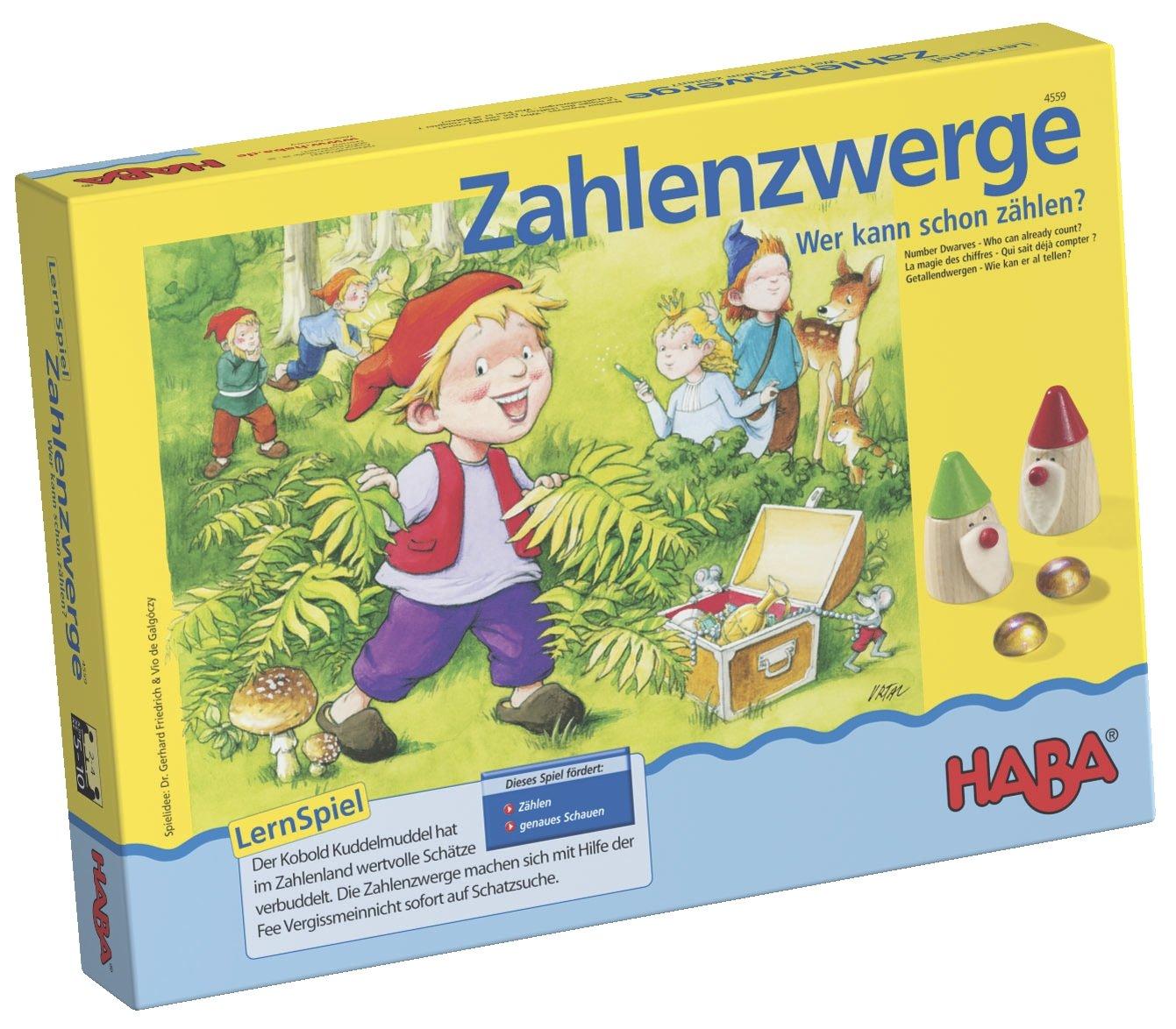 Wehrfritz 114559 Zahlenzwerge B07B8XGPSJ Brettspiele Vielfalt | München