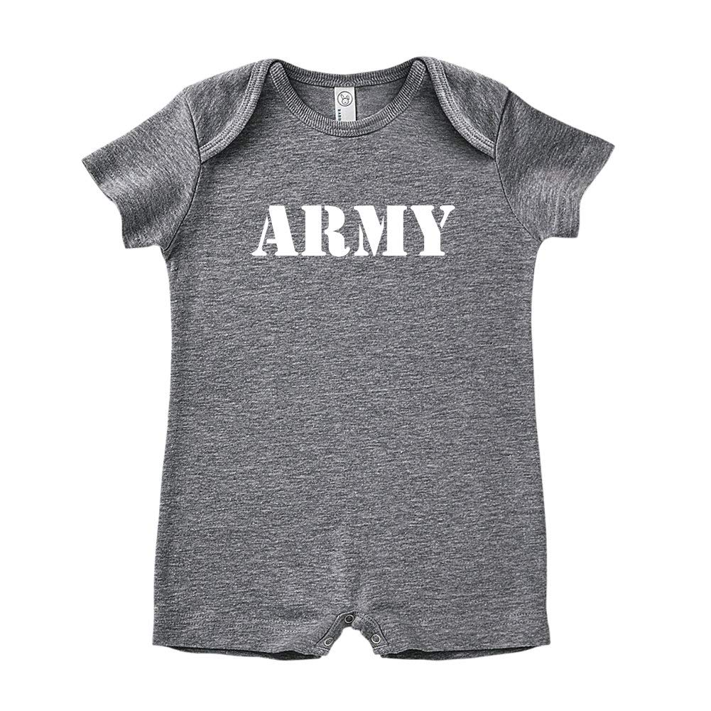 Army Military Armed Forces Soldier Baby Romper