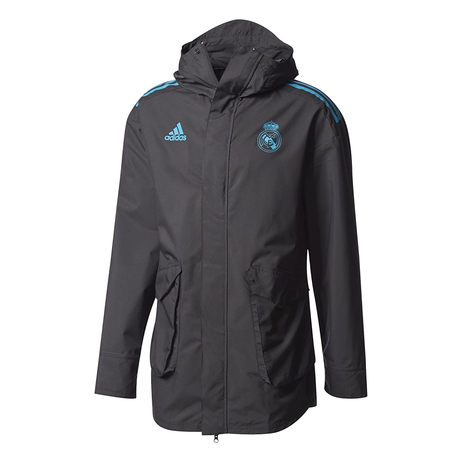 Adidas Herren Real Madrid UCL All-Weather Jacke