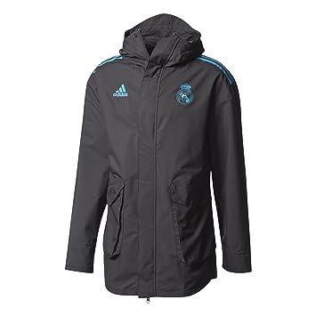 Adidas EU Allw Jk Chaqueta-Línea Real Madrid FC, Hombre: Amazon.es: Deportes y aire libre